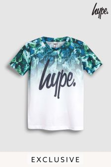 Hype. Neon Jungle Fade Tee