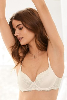Phoebe Supersoft Lightly Padded Longline Flexiwire Balcony Bra