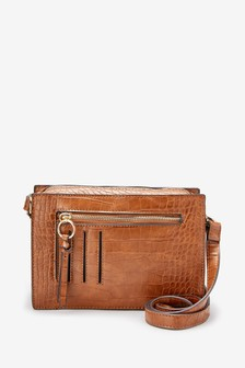 Croc Effect Utility Detail Camera Bag