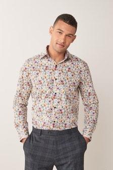 Slim Fit Print Shirt