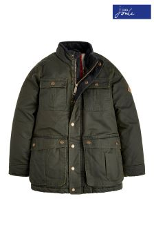 Joules Everglade Faux Wax Jacket