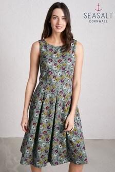 Seasalt Freehand Floral Flint Merthen Dress