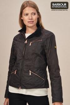 Barbour® International Backmarker Rustic Wax Jacket