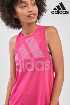 adidas Pink Magic Logo Tank