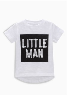 Little Man Short Sleeve T-Shirt (3mths-6yrs)