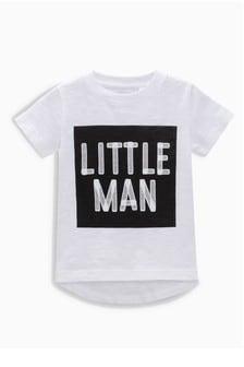 Little Man Short Sleeve T-Shirt (3mths-6yrs)