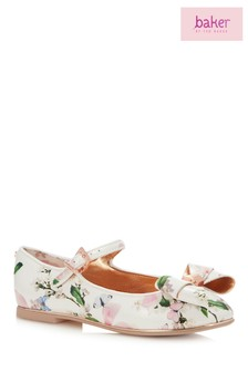 baker by Ted Baker Multi Harmony Print Pump