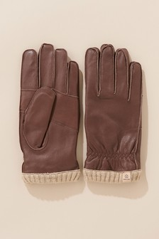 Rękawiczki skórzane