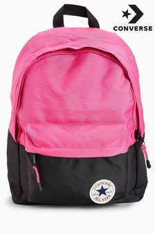 Converse Pink And Black Backpack