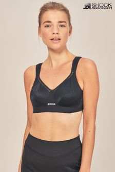 Shock Absorber Black Active Support Non Wired Sports Bra