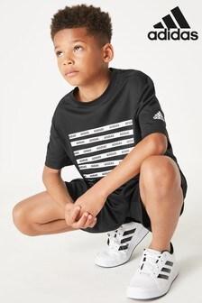 adidas 9 Stripe Training T-Shirt