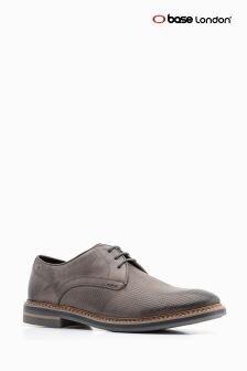 Base London® Grey Blake Lace-Up Shoe