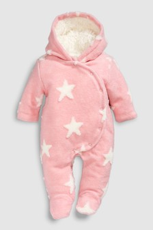 Fleece Star All-In-One (0mths-2yrs)
