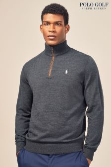 Polo Golf by Ralph Lauren Avery Heather 1/4 Zip Knit
