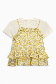 Print Blouse Set (3mths-6yrs)