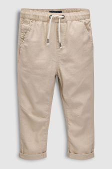 Linen Roll Trousers (3-16yrs)