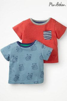 Boden Blue T-Shirts Two Pack