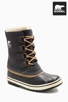 14ee7f10a181 Sorel® Coal Grey Lace-Up Pac II Boot