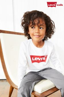 Levi's® Kids Long Sleeve Batwing T-Shirt