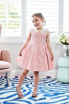 Kleid mit Kragen (3Monate bis 6Jahre)