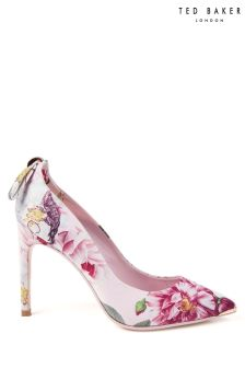 Ted Baker Pink Floral Livliap Pointed Court