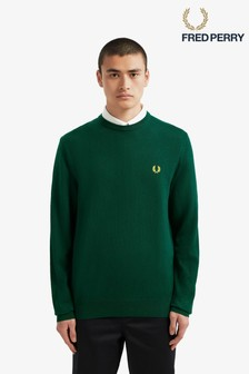 Fred Perry Classic Merino Crew Neck Jumper