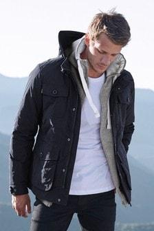 Jacke mit vier Taschen