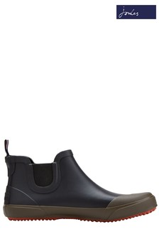 Joules Black Rainwell Rubber Boot