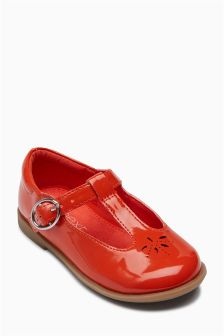 Patent T-Bar Shoes (Younger)