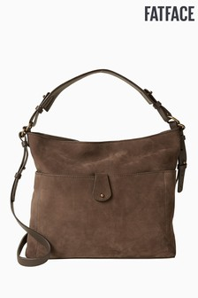 Sac ample FatFace Sophia marron