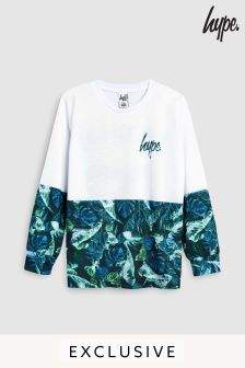 Hype. Neon Jungle 93 Long Sleeved Tee