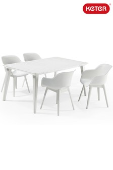Dining Table And Chair Set By Allibert