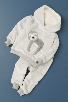 Sloth Fleece Pyjamas (9mths-8yrs)