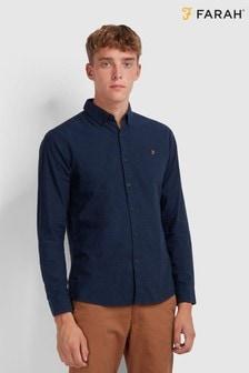 Farah Blue Steen Shirt