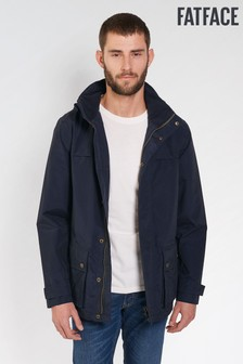 FatFace Navy Cleehill Tape Seam Jacket