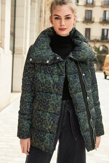 Animal Padded Jacket