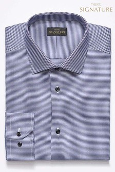 Signature Puppytooth Regular Fit Shirt