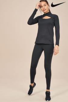 Nike Pro Warm Black Pearl Tight