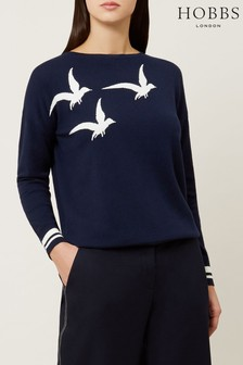 Hobbs Blue Gemma Sweater