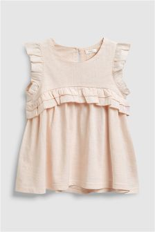 Frill Short Sleeve Blouse (3-16yrs)