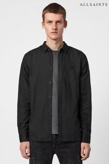 AllSaints Black Redondo Shirt