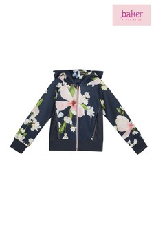 baker by Ted Baker Younger Girls Floral Sweat Top