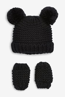 Hat And Mitts Set (Younger)