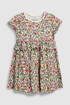 Short Sleeve Ditsy Dress (3mths-6yrs)