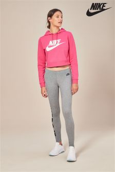 Nike Grey Leg-A-See High Waisted Legging