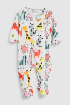 Character Print Fleece Sleepsuit (0mths-3yrs)