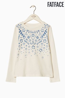 FatFace Natural Trailing Floral Graphic Tee