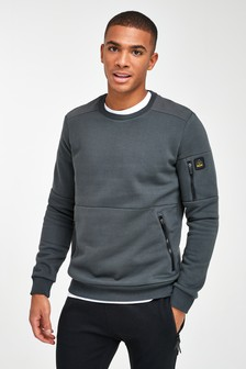 Utility Crew Neck Sweater