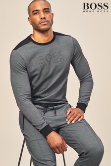 BOSS Black Tracksuit Sweatshirt