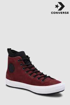 Converse Burgundy Leather Boot